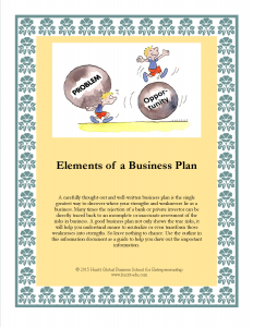 Elements of a Business Plan_cover
