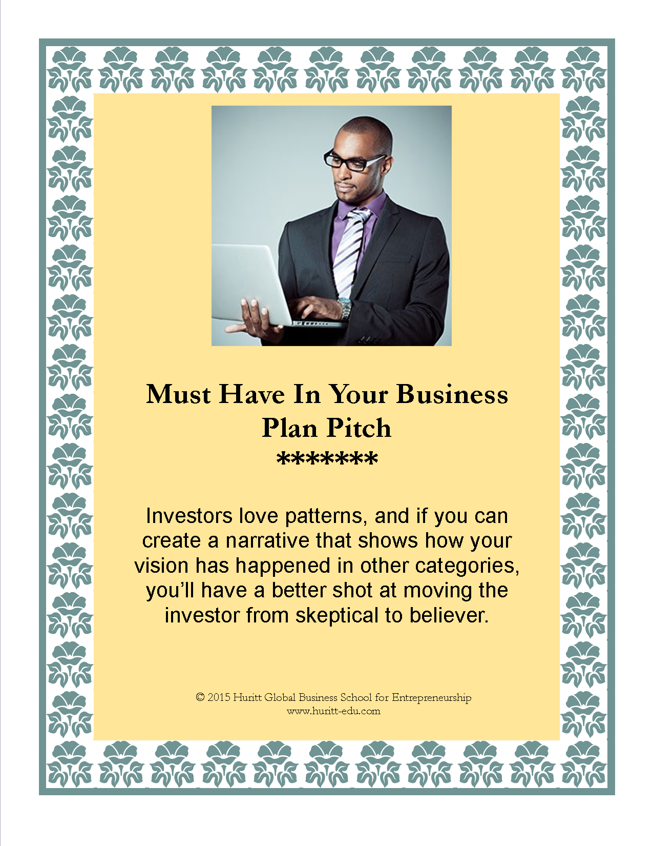 how to write a pitch for a business idea